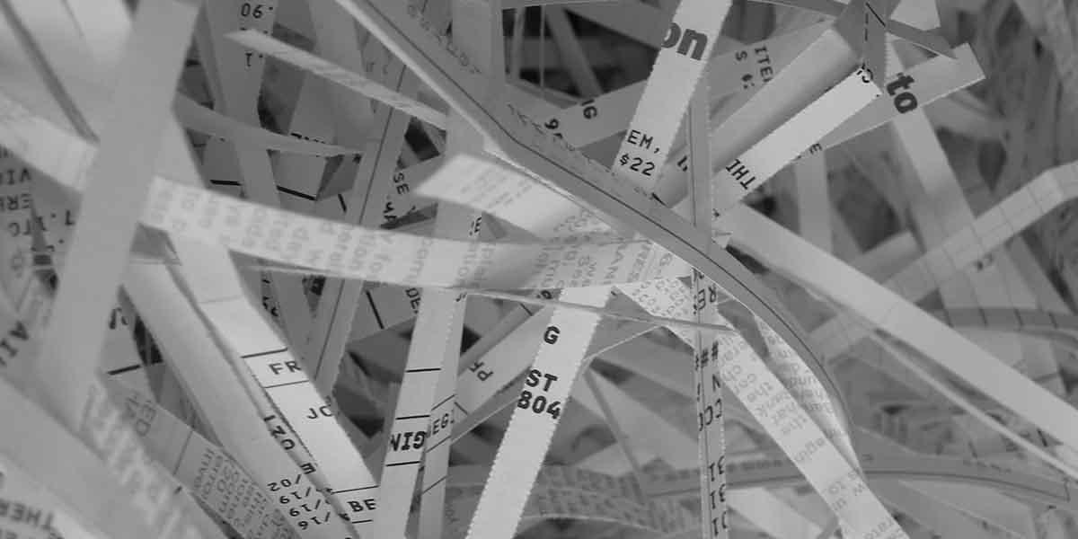 Destrucción de documentos y la protección de datos