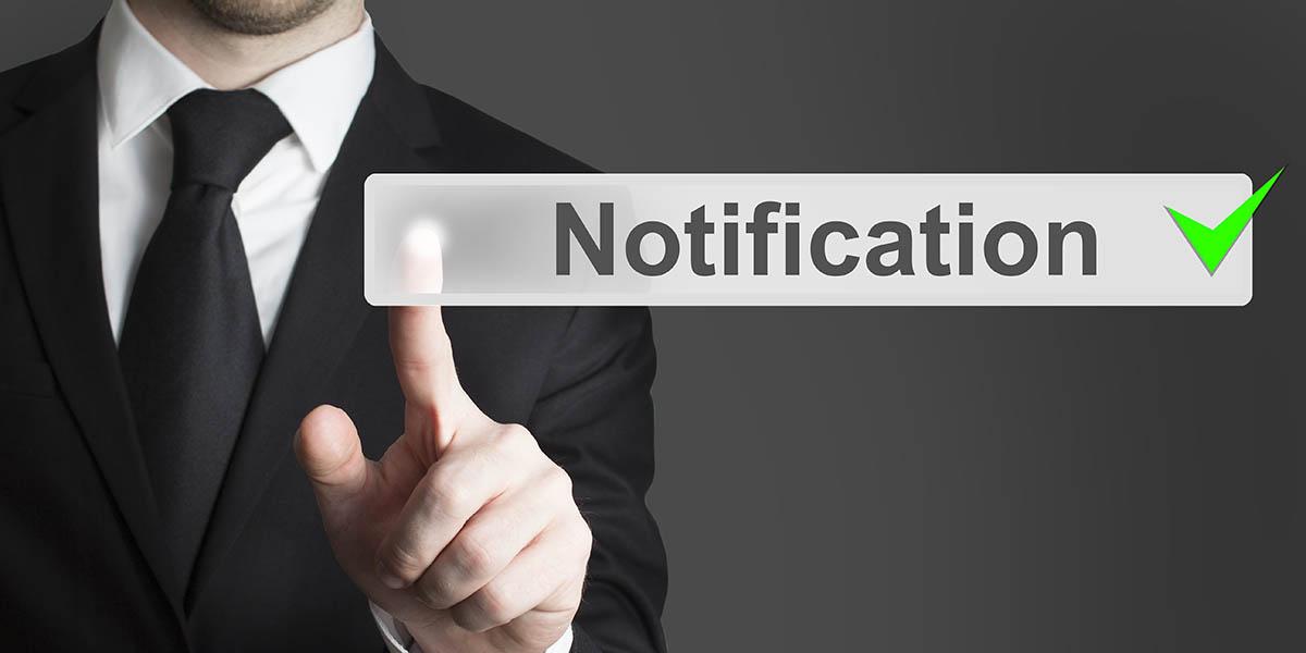 Notificación de quiebras de seguridad AEPD
