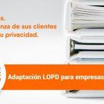 Adaptación LOPD para empresas y autónomos - Información GRATIS